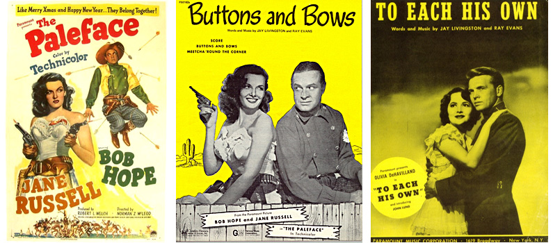 The Paleface / Buttons and Bows / To Each His Own