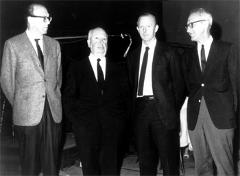 Jay and Ray with Alfred Hitchcock